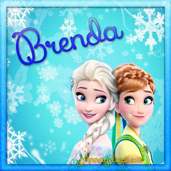 Imagen de Frozen con nombre Brenda