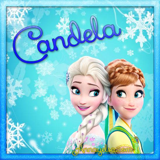 Imagen de Frozen con nombre Candela