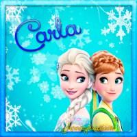 Imágenes de Frozen con nombre: Letra C