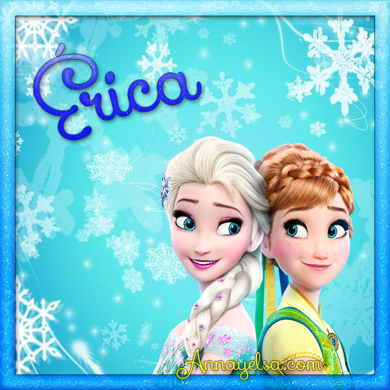 Imagen de Frozen con nombre Erica