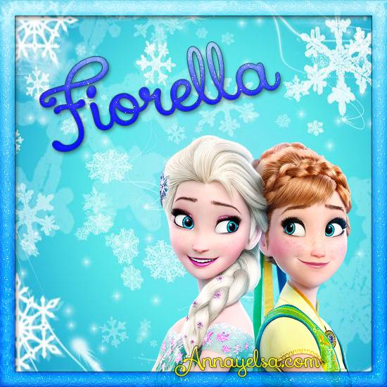 Imagen de Frozen con nombre Fiorella