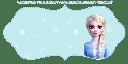 Candy bar gratis Elsa Frozen 2