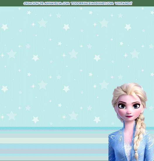 Kits Imprimibles Elsa Frozen 2