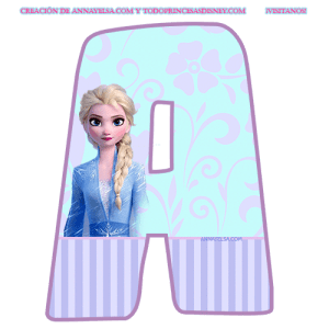 Alfabeto Frozen
