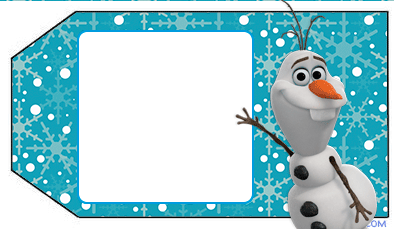 Frozen Tags Olaf