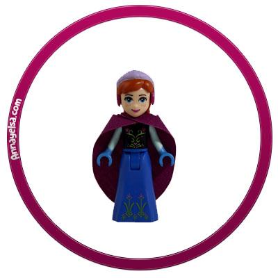 Etiquetas Frozen Lego Anna stickers