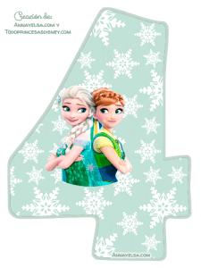 4- Frozen fever numbers