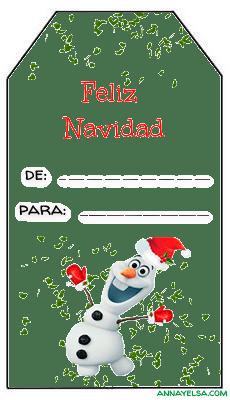 Tags Feliz Navidad gratis