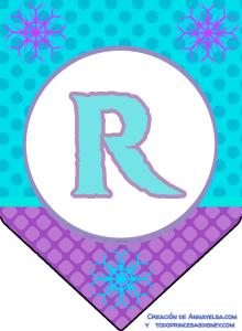 Happy Birthday Banner Frozen Free printable R