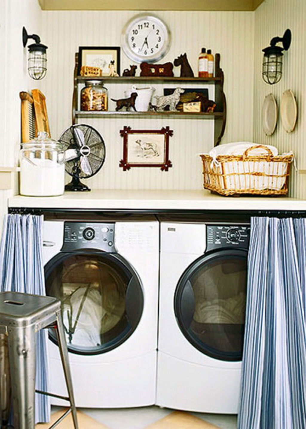 Home-Interior-Design-for-make-Small-Laundry-Room ... on Laundry Room Decor Ideas  id=83152