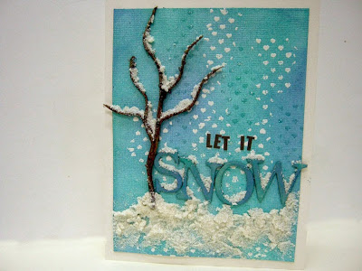 14 Cards - Einat-let it snow christmas card
