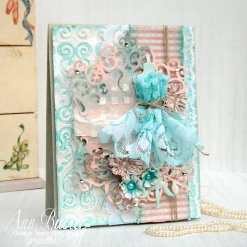 Ann Butler Designs Spring themed card