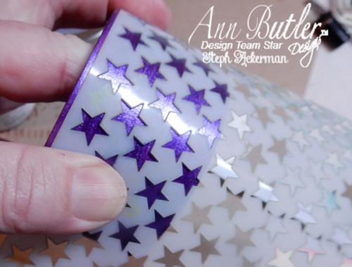 Steph Ackerman Iridescent Bangle Bracelet for Ann Butler Designs