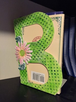Upcycled Bookend using Ann Butler Designs