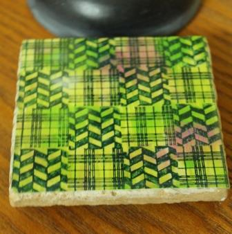 Ann Butler Designs Gel Press Resin Coaster0123