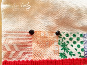 Quick and Easy Stamped Tote Bag