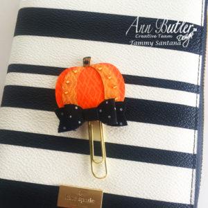 Pumpkin Planner Clip Tutorial