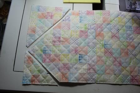 Faux Quilted Oly-Fun™ Notebook Cover