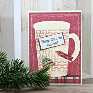 Baby, It's Cold Outside Stamped Card