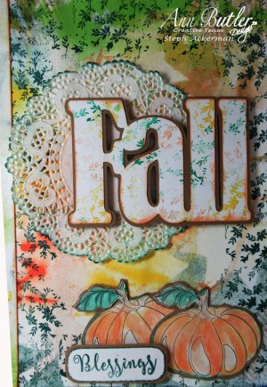 Altered Fall Journal Notebook