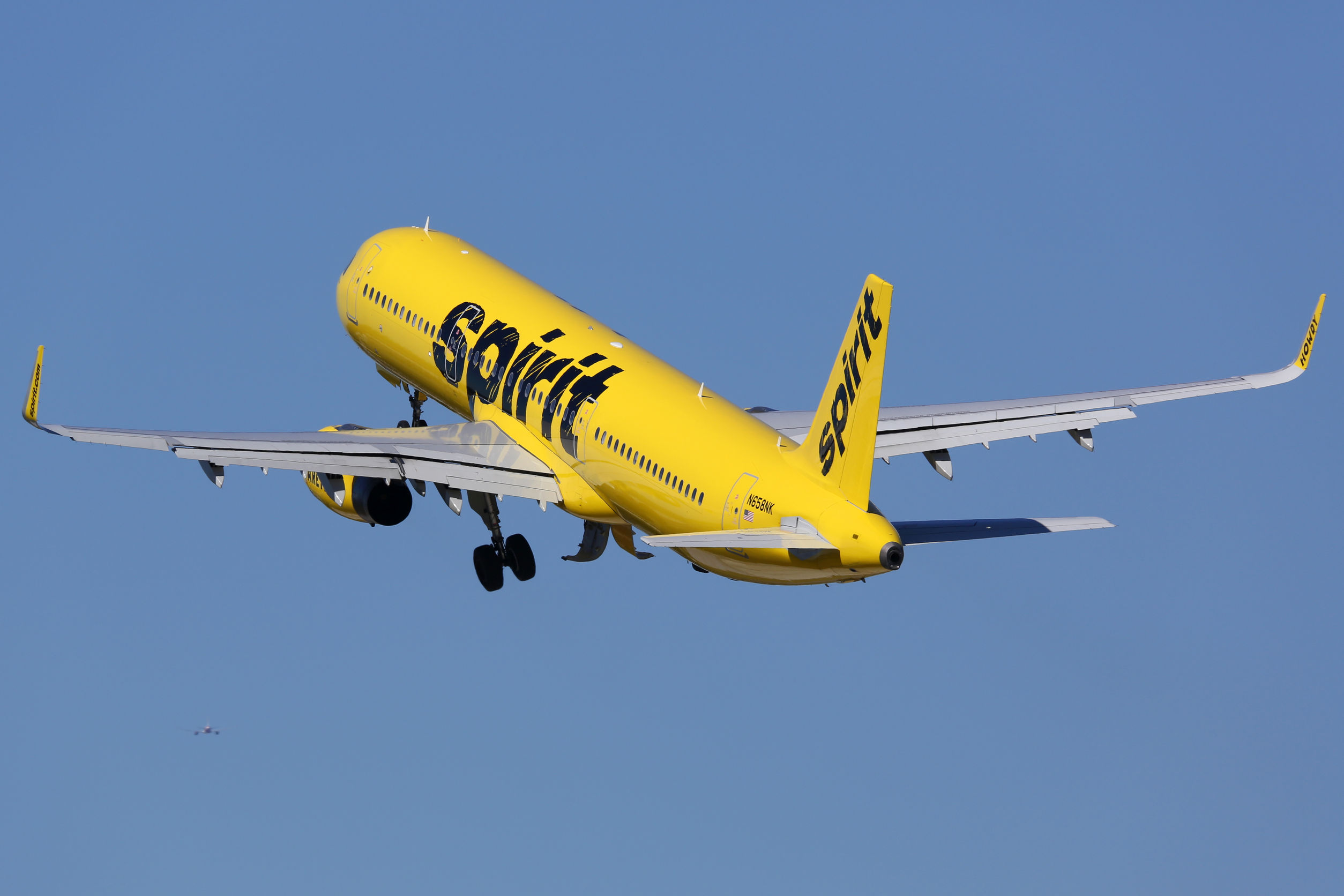 0162cfbe37c6 Spirit Airlines. Photograph from 123RF stock photos.