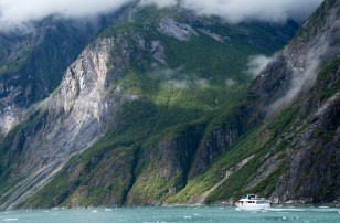 Stunning views throughout Tracy Arm. Photograph, Ann Fisher.