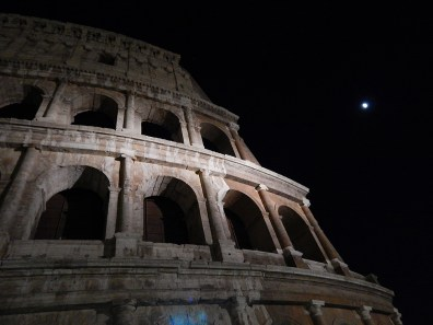 The Coliseum on our After Dark tour. Photograph, Carolyn Fisher.