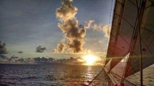 Star Flyer Sunrise-Sunset Series 5. Photograph, Bill Palmer.