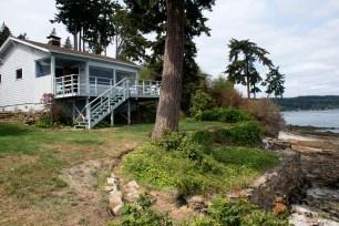 The cottage on West Puget Sound, Rich Passage.