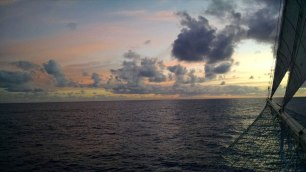 Star Flyer Sunrise-Sunset Series 2. Photograph, Bill Palmer.