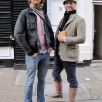 Friends...Redchurch Street, London