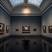 At The National Gallery part 1...Trafalgar Square, London