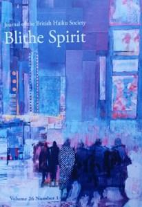 Blithe Spirit magazine cover