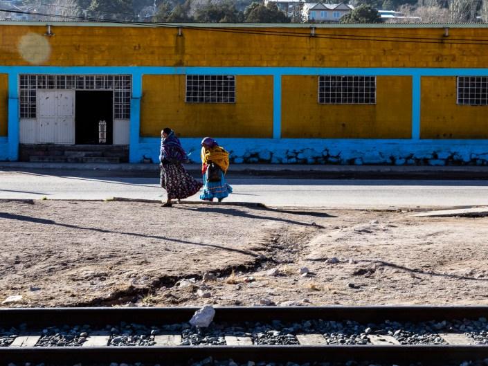 On the road of El Chepe