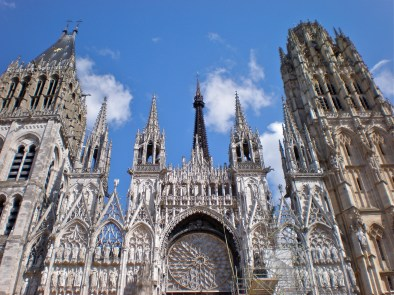 Notre Dame, Rouen in Normandy
