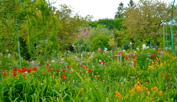 Monet's garden in Giverny, Normandy