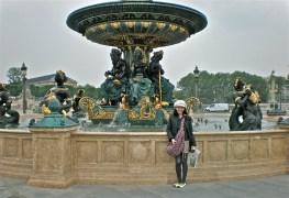 me at Place de la Concorde