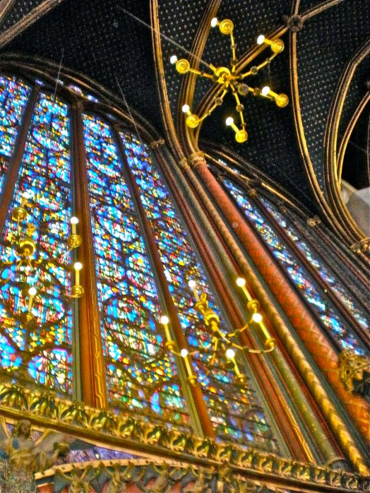 Stained glass beauty, Sainte-Chapelle