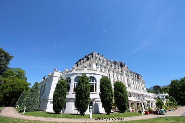 l'Imperial palace à Annecy