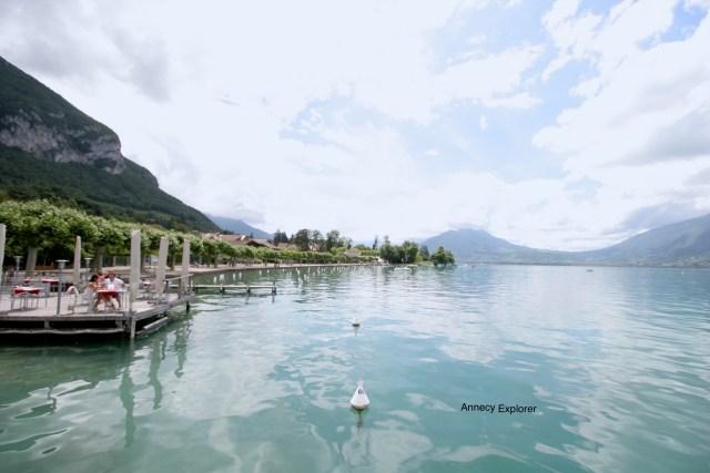 Les rives du Lac d'Annecy