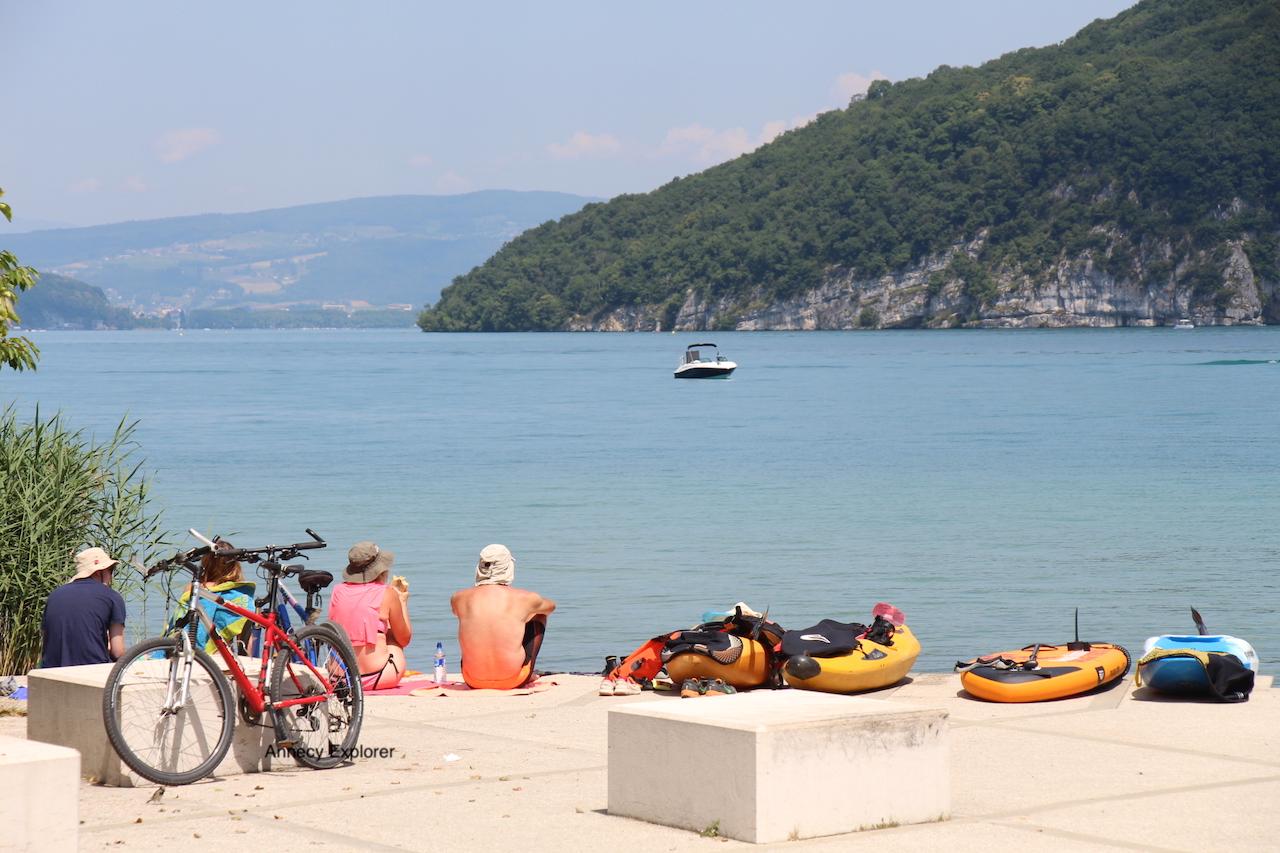 Le Kayak à Annecy