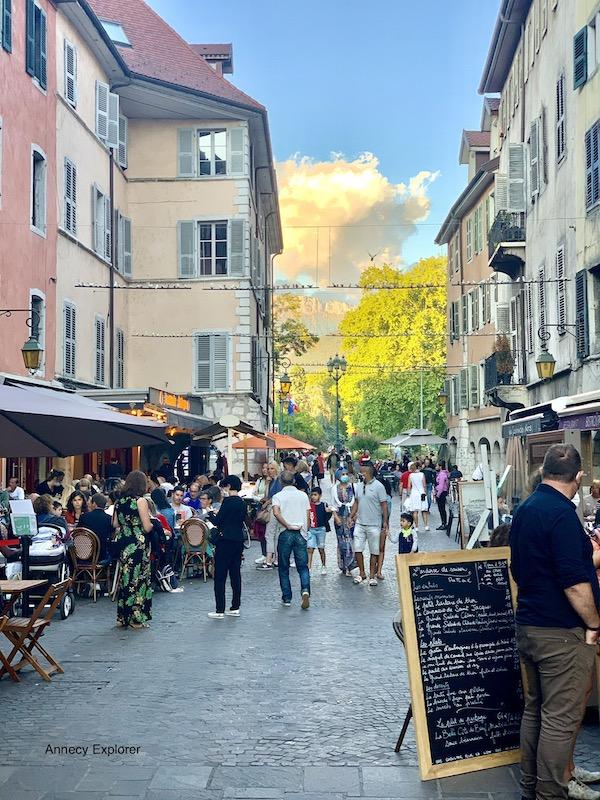 Où manger en vieille ville d'Annecy