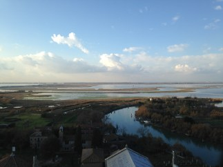 From the Campnile in Torcello