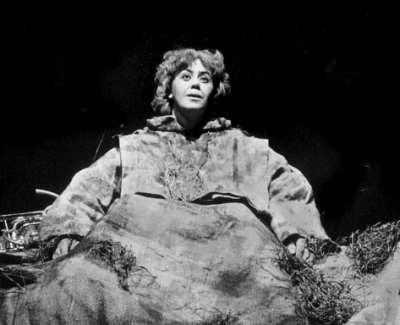 """Winnie in Beckett's play """"Happy Days"""""""