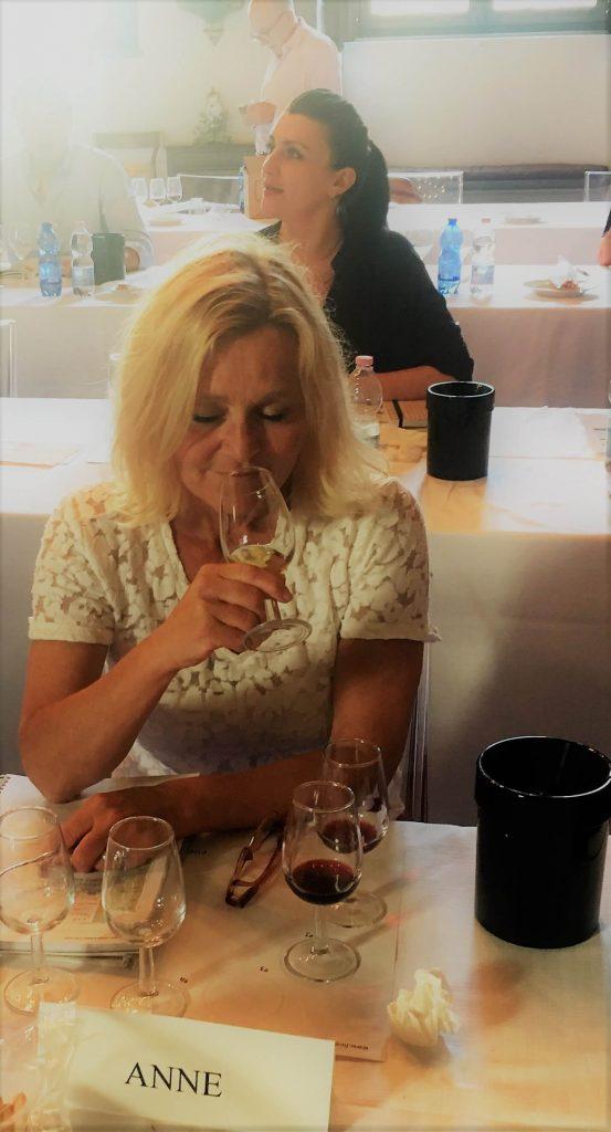 På vinkurs i Firenze i Italia WSET 3