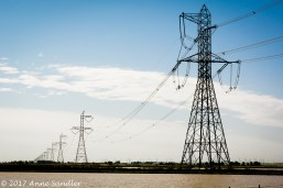 Power towers. What photographer could resist these?