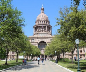 Texas State Capitol building in Austin.