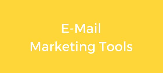 Die besten E-Mail Marketing Tools für Blogger