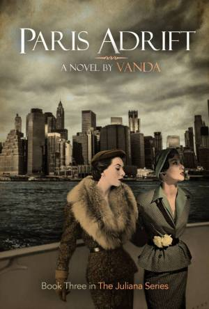 The book cover for Paris Adrift by Vanda