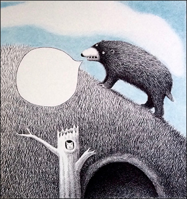 Bear on Mountain, Anne Hunter, Illustrator
